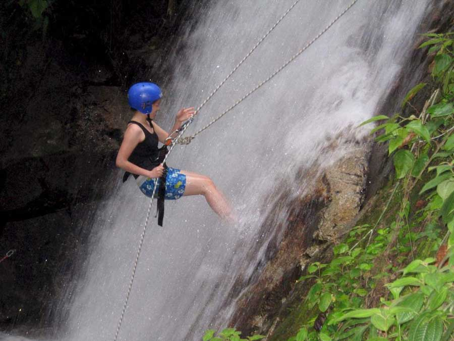 Water Fall Abseiling